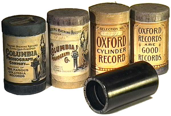 Columbia Cylinder Cartons Records Were Sold Through Sears Roebuck Under The Name Oxford